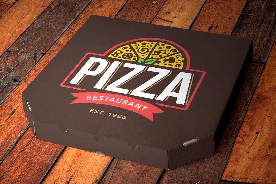 Pizza Logo Templates example image 10