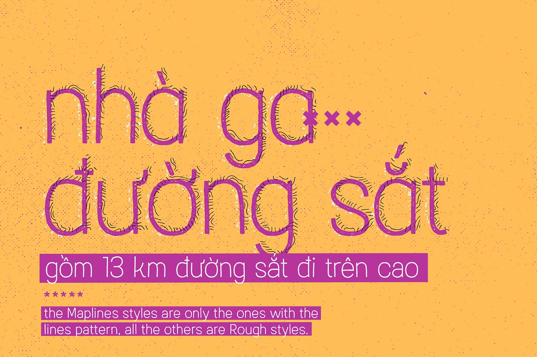 Austral Sans Maplines example image 5