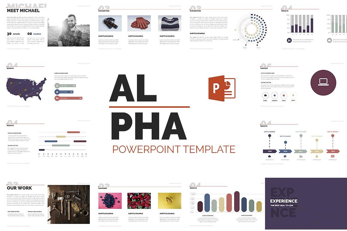 Alpha powerpoint presentation template design bundles alpha powerpoint presentation template example image 1 toneelgroepblik Gallery