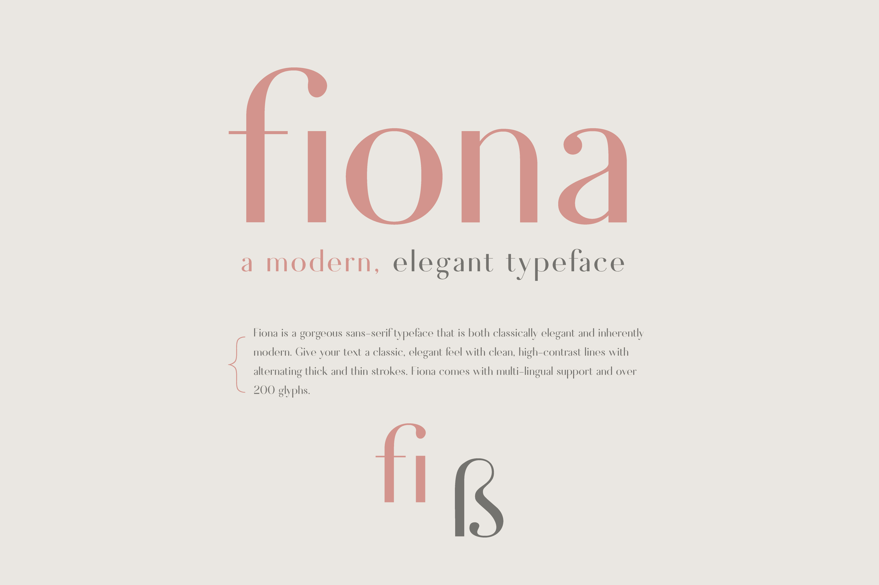 Fiona - An Elegant Typeface example image 6