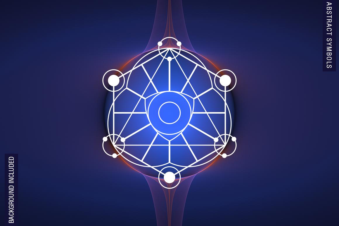 100 Sacred Geometry Symbols  example image 14