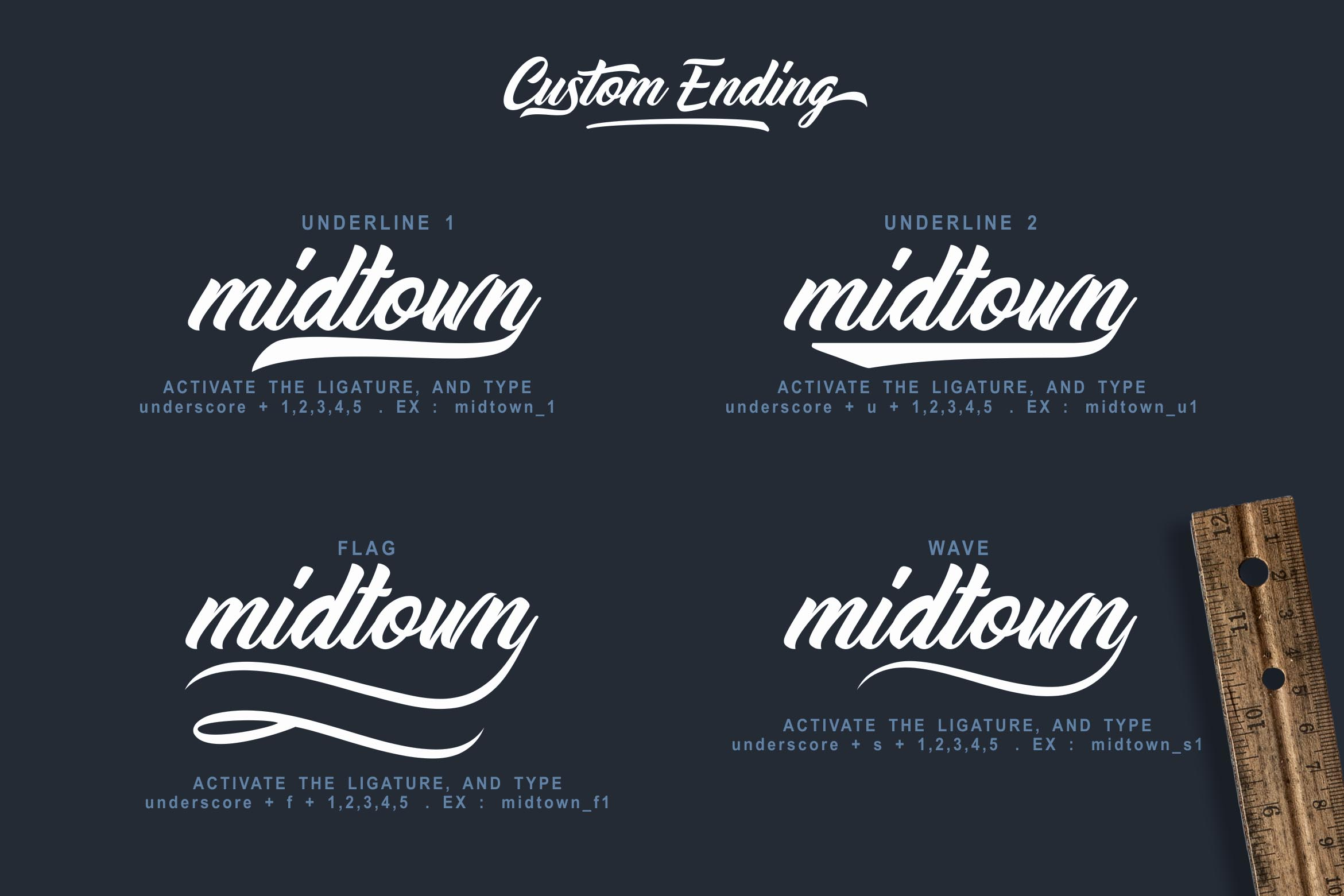 Midtown stylish font by lettersiro co font bundles midtown stylish font example image 3 buycottarizona Gallery