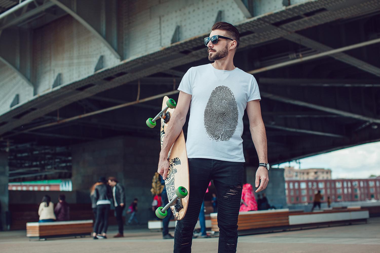 Men's T-Shirt Mock-Up Vol.3 2017 example image 4