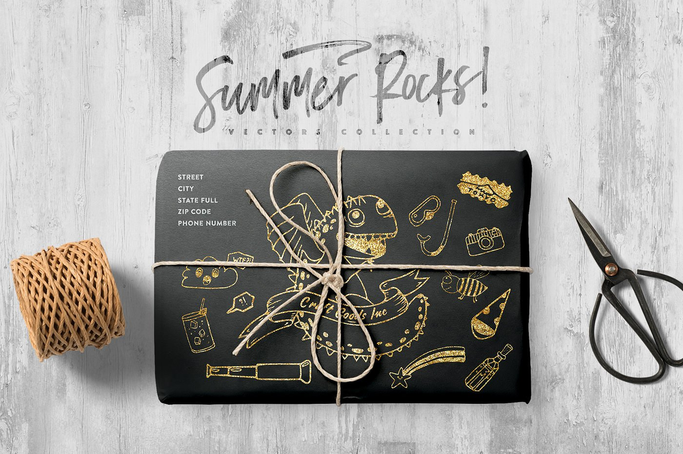 Summer Rocks! Vectors Collection example image 5