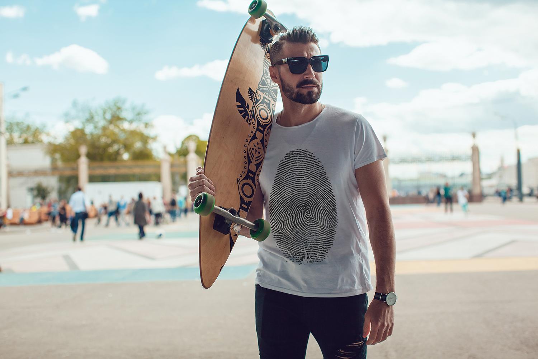 Men's T-Shirt Mock-Up Vol.3 2017 example image 8