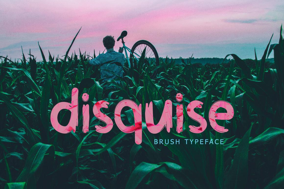 Disquise Brush Typeface example image 1