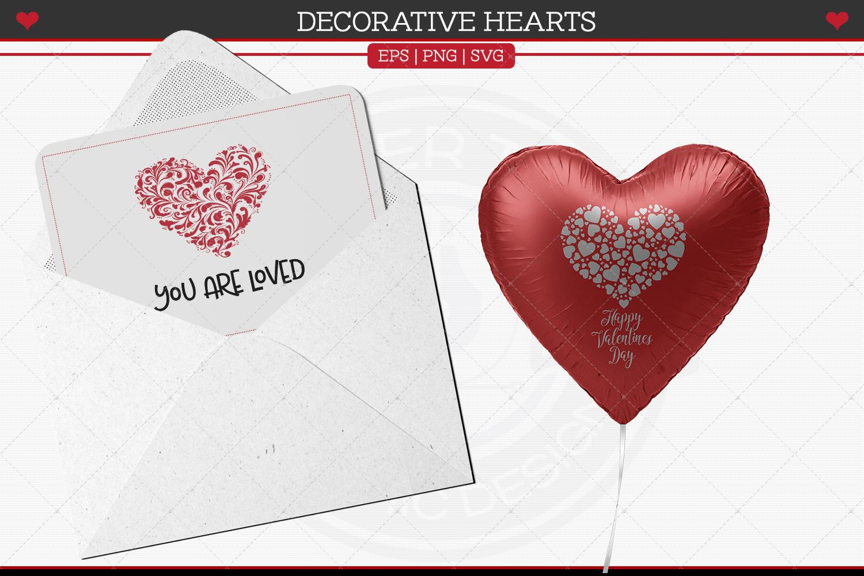 Decorative Hearts example image 2