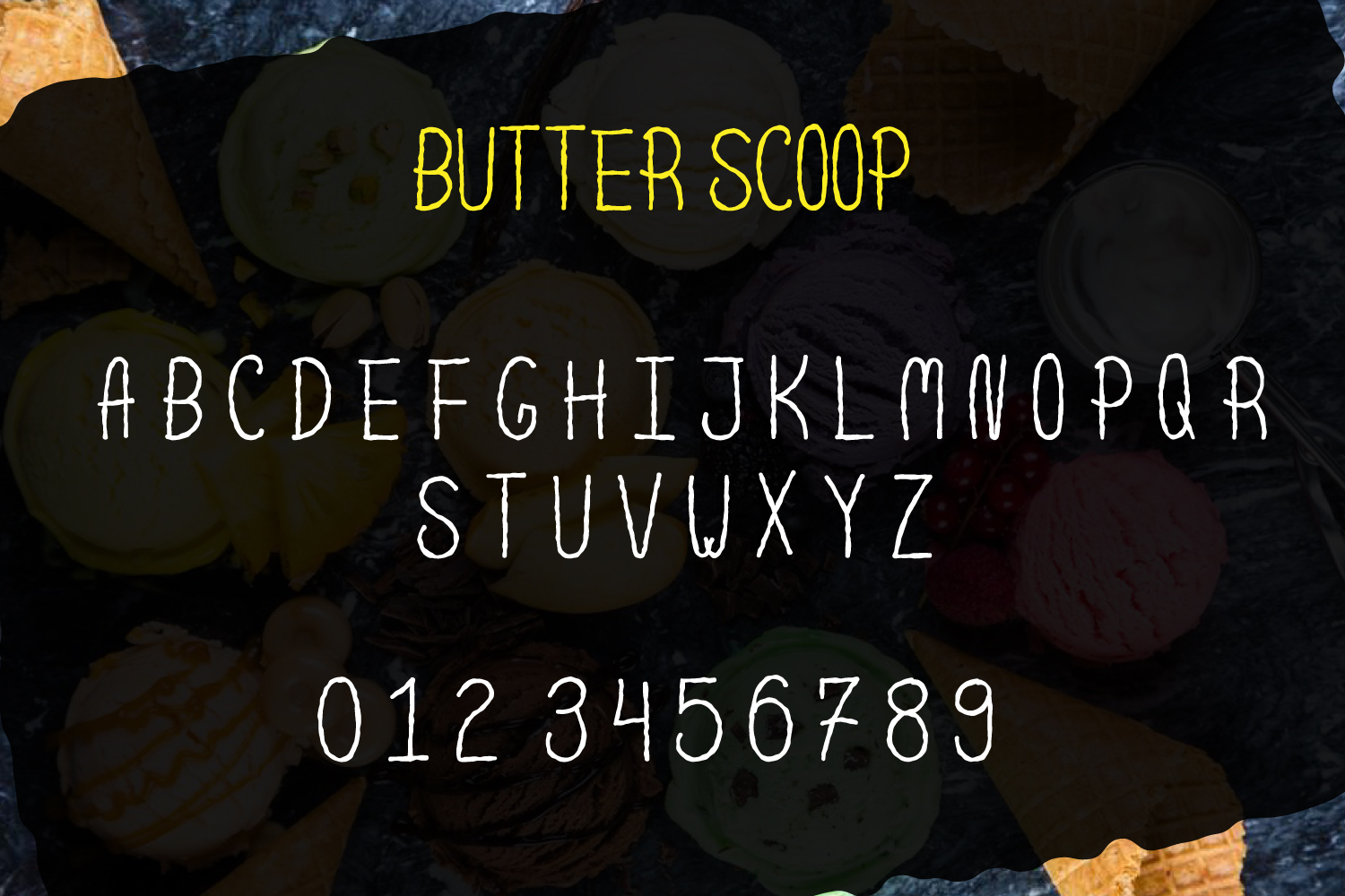 Scoop - Delicious Handdrawn Font example image 3