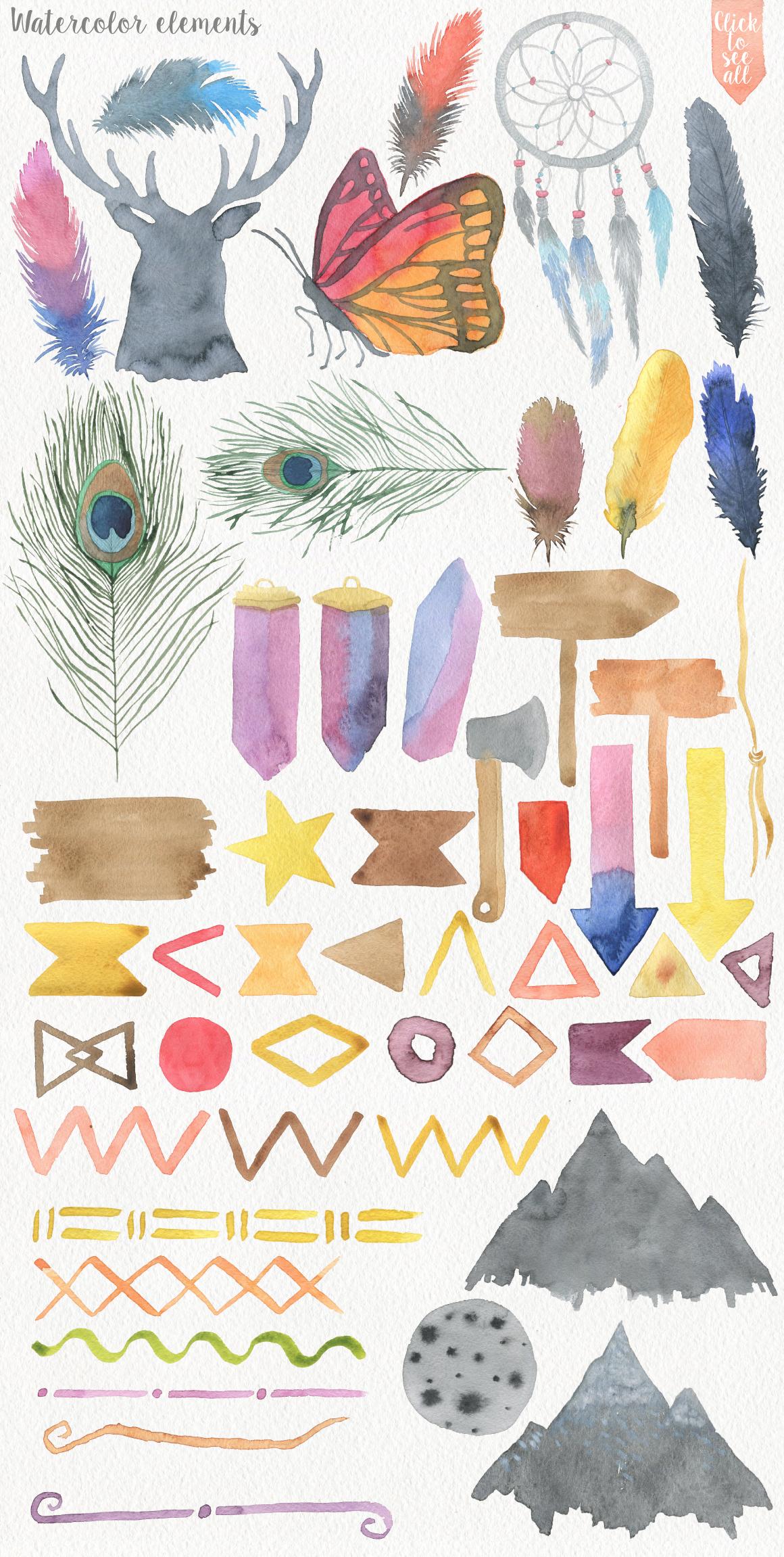 Wild Watercolor DIY example image 4