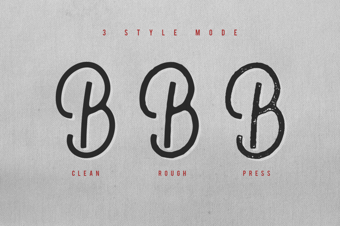Nobbler Typeface example image 2