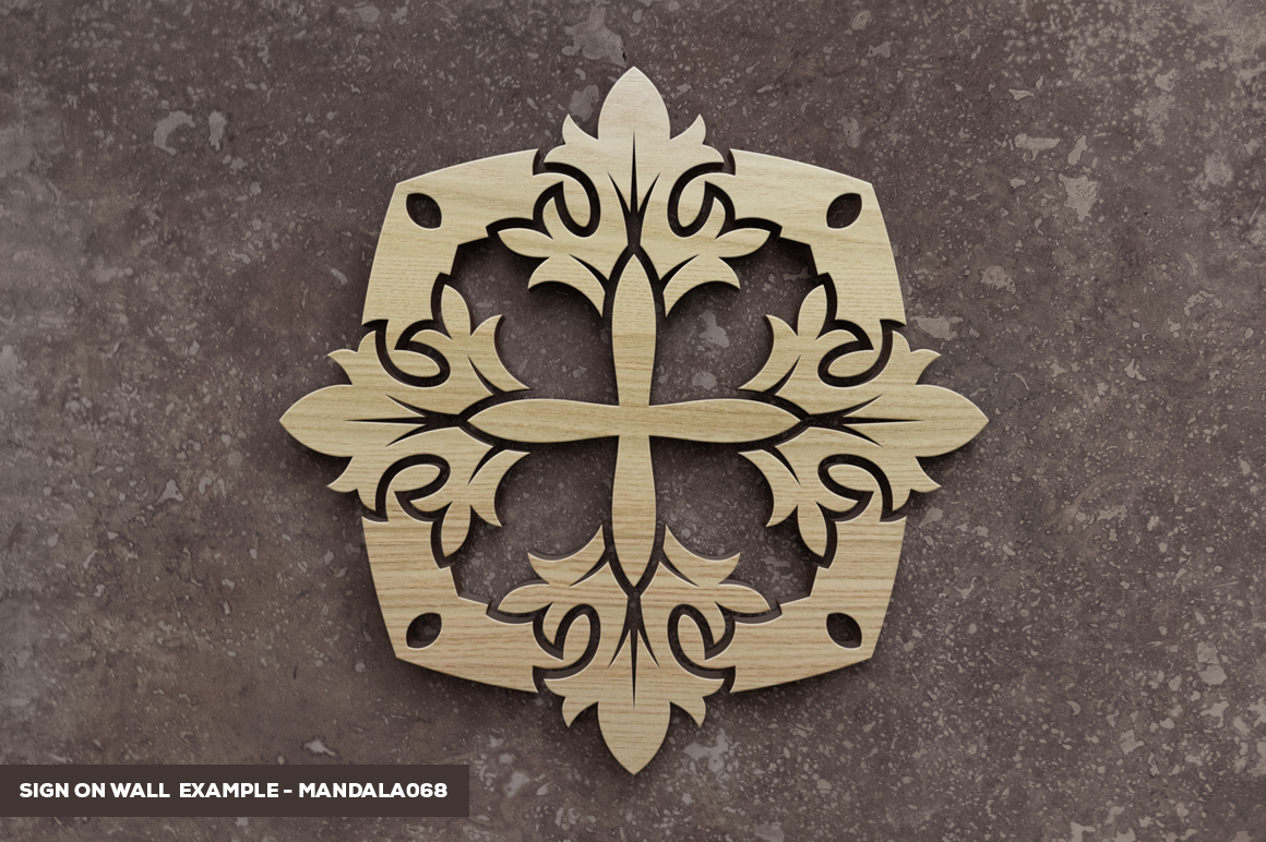 500 Vector Mandala Ornaments example image 41