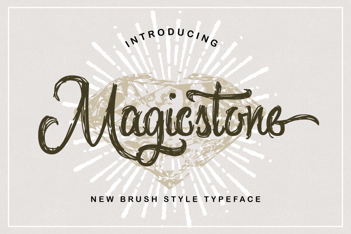 Magicstone Typeface example image 1