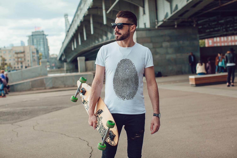 Men's T-Shirt Mock-Up Vol.3 2017 example image 5