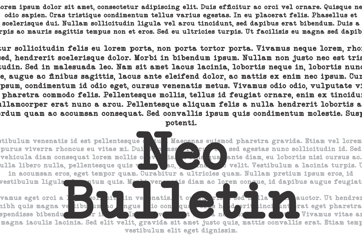 NeoBulletin example image 1