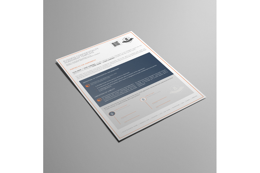 Business Confidentiality Agreement Template example image 3