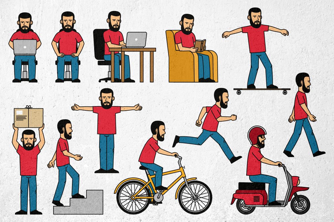 Bearded Man Generator example image 2