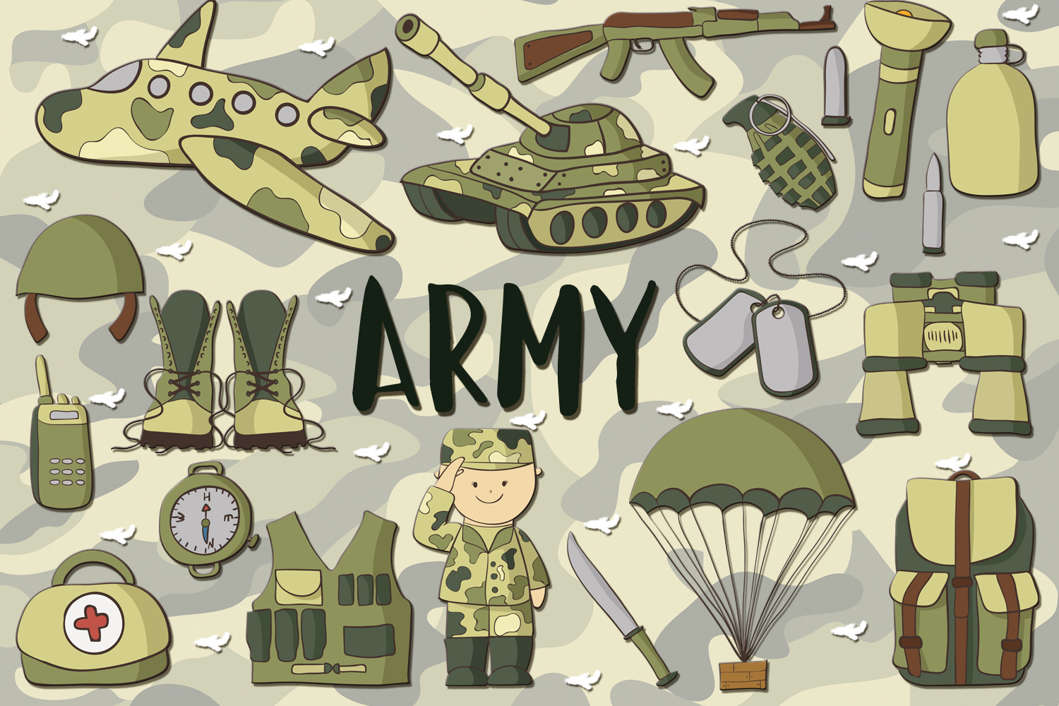 Army Pack example image 1