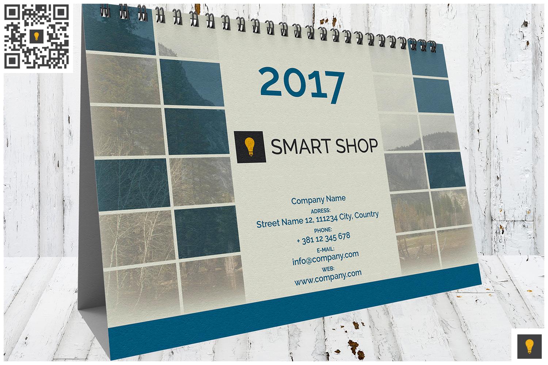 2017 Desktop Calendar example image 3