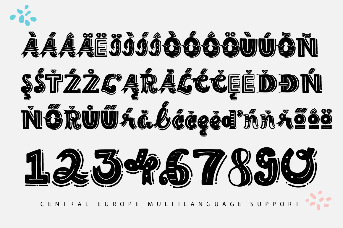 The Lettering Font example image 4