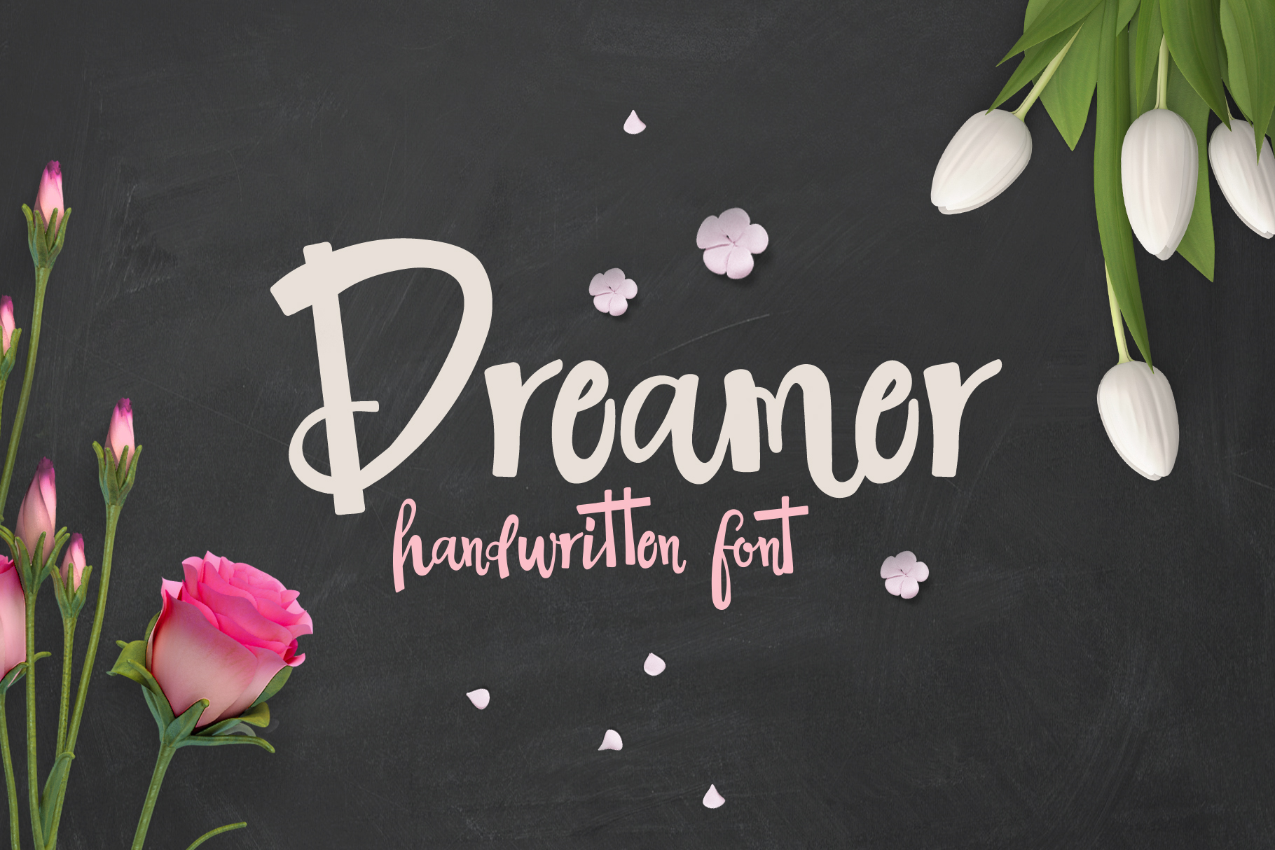 The Dreamer Font example 1
