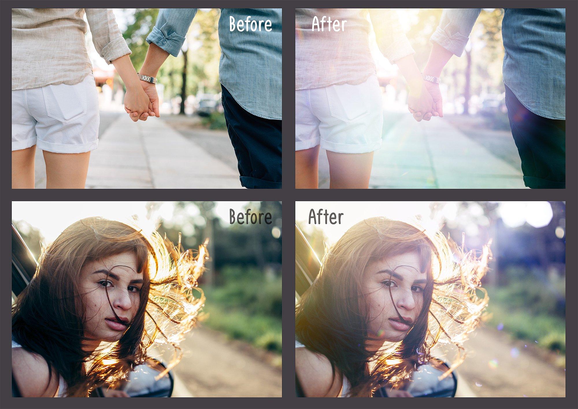 60 Light Bokeh Overlays example image 2