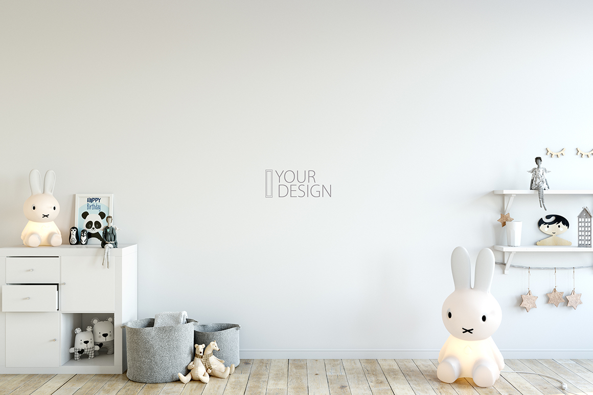 KIDS WALL & FRAMES Mockup Bundle - 2 example image 17