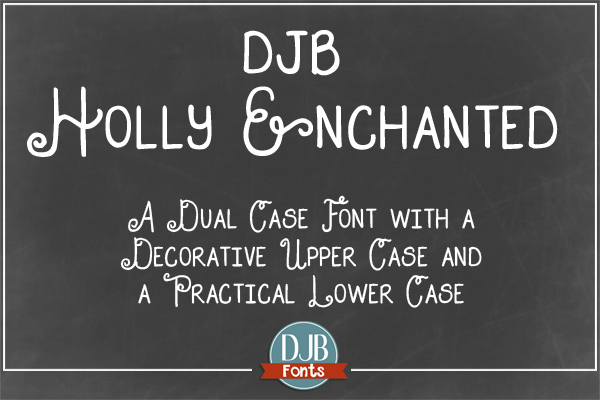 DJB Holly Sessions Font Bundle example image 4