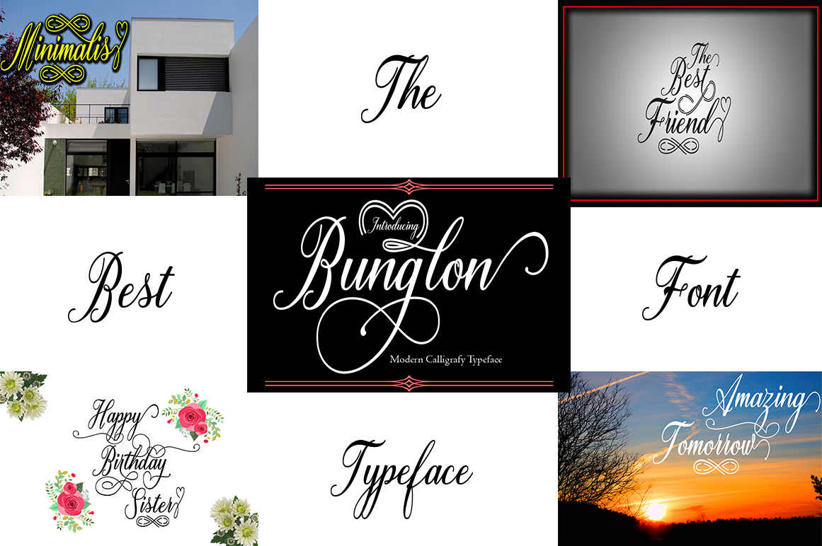 Big Bundle (nice collection of font script) example image 4