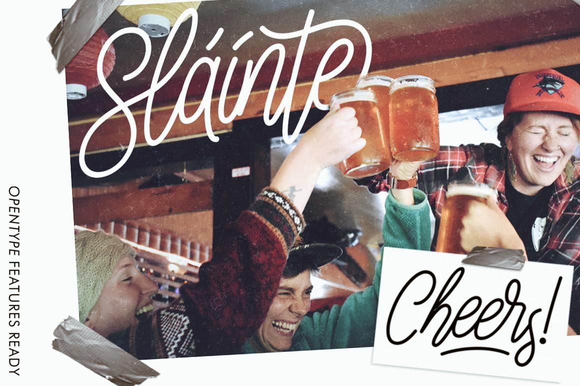Sláinte Script example image 2