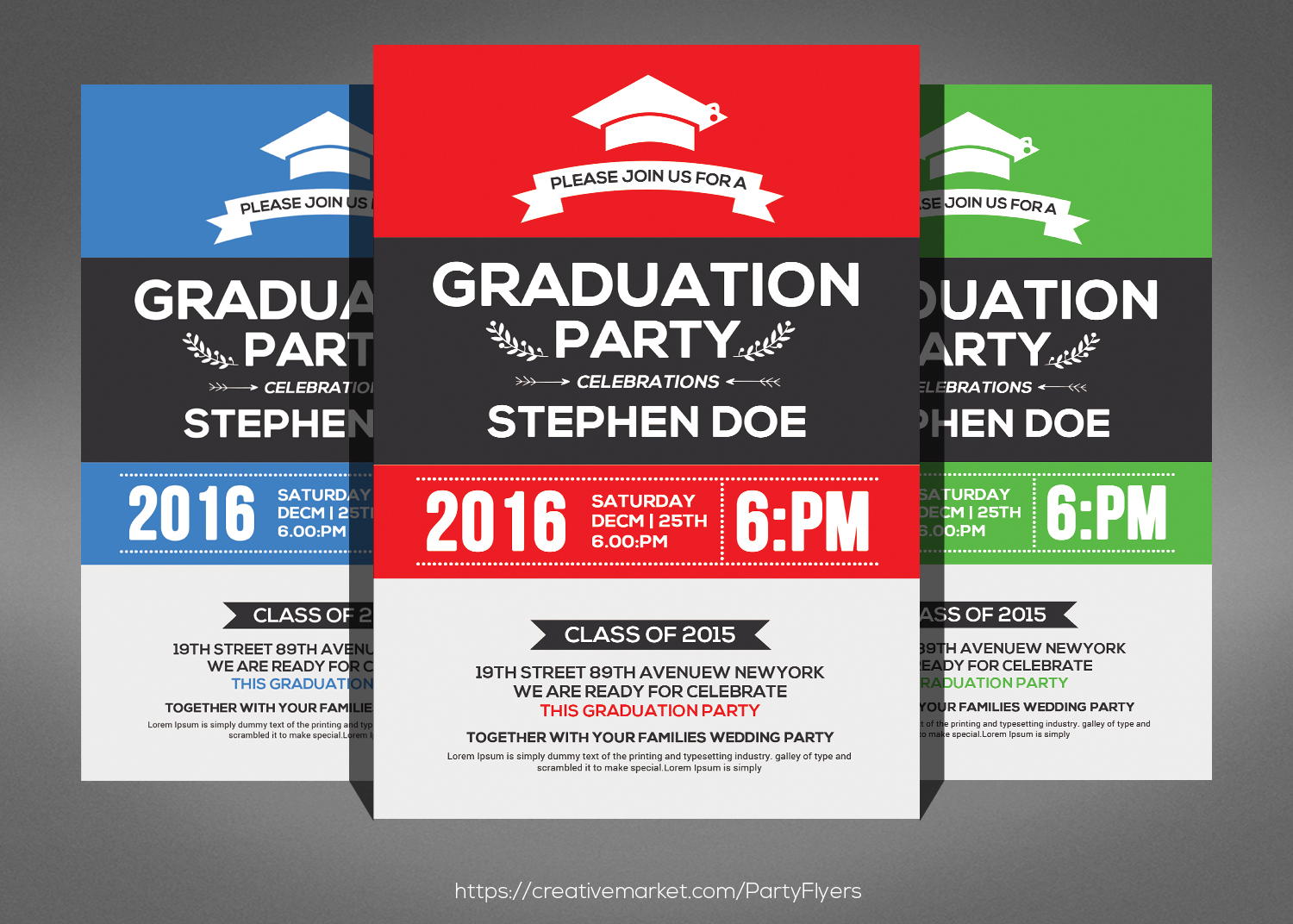 Dorable Graduation Party Invitations 2015 Elaboration - Invitations ...