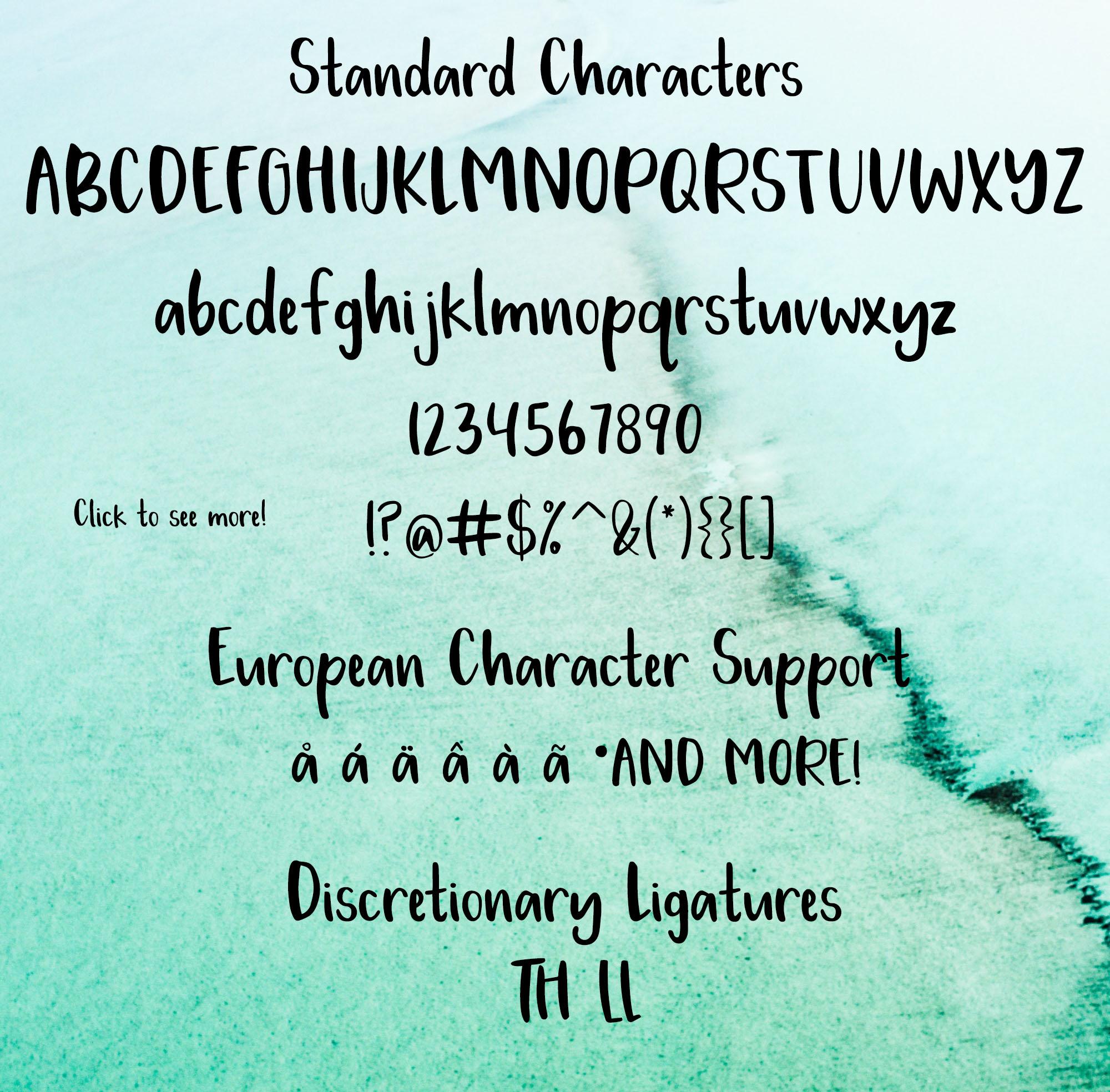 Lakeside Font example image 2