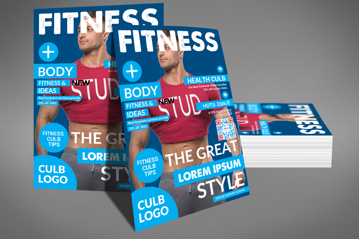 Fitness Flyer Template Example Image 4