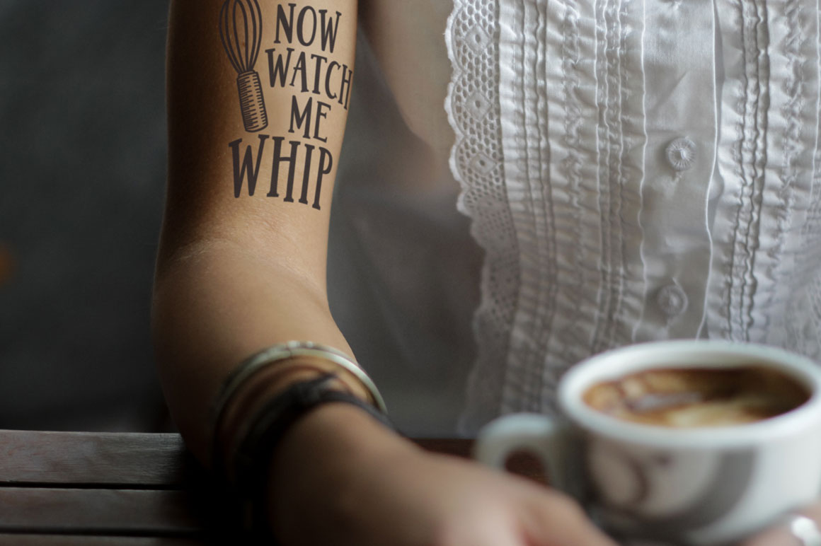 Jumbuck: tattoo mockup idea