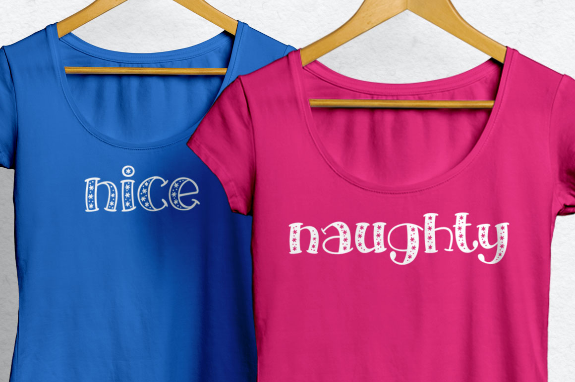 Big Freeze & Big Frost - holiday t-shirt idea mockup