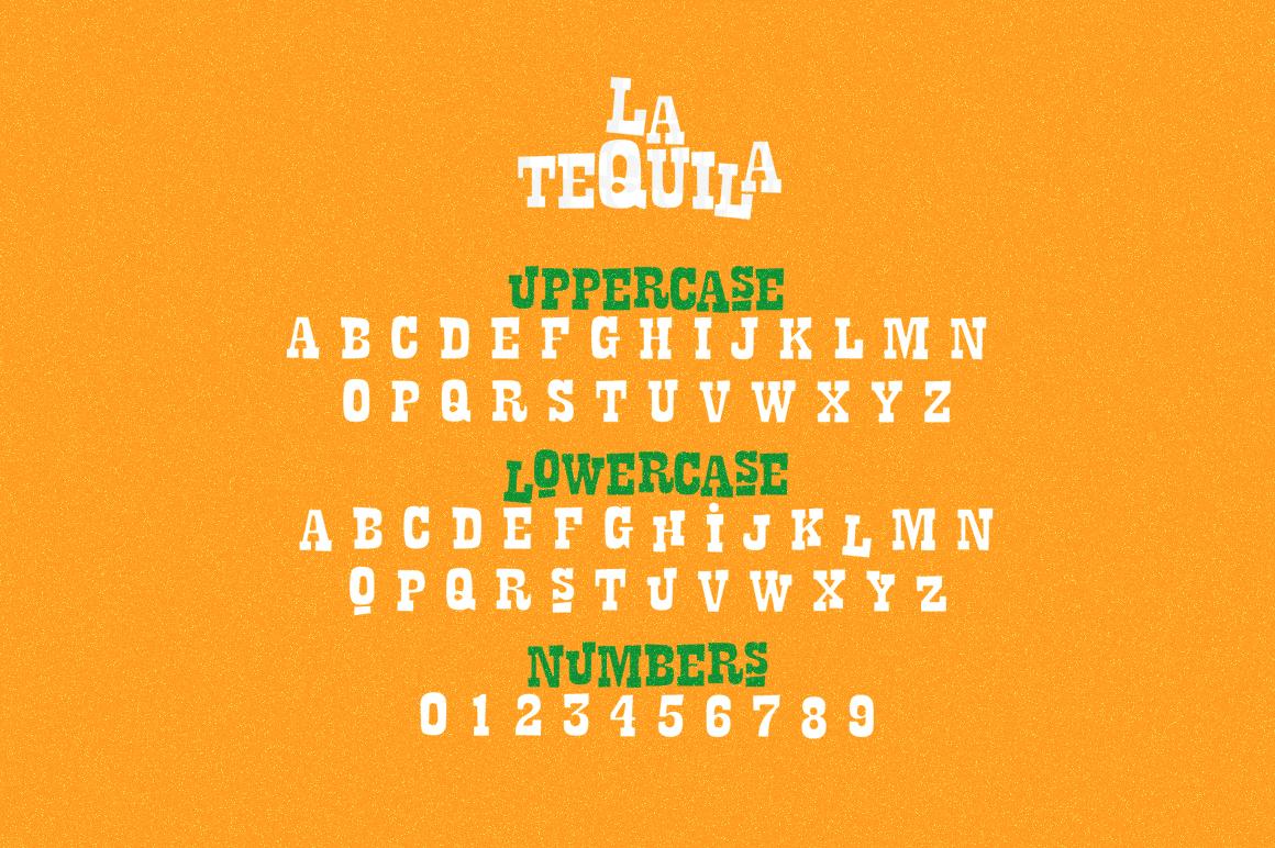 La Tequila Typeface example image 2