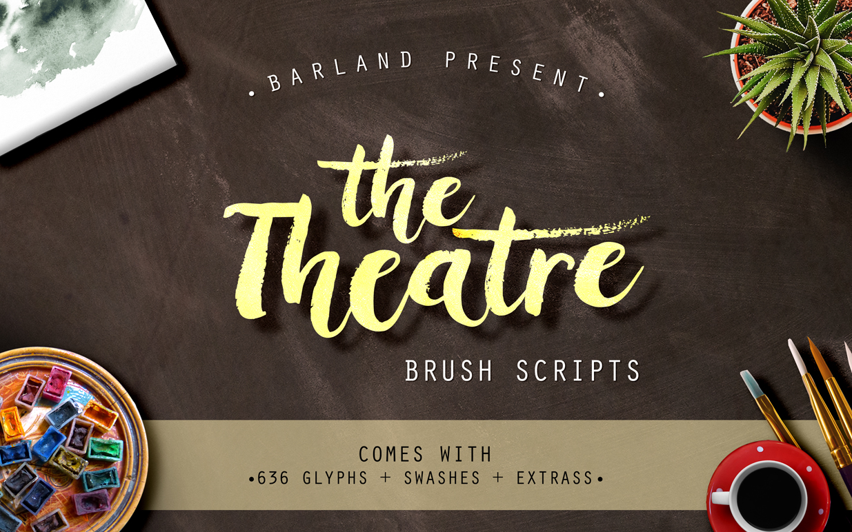 The Theatre Brush - 30% OFF example image 2