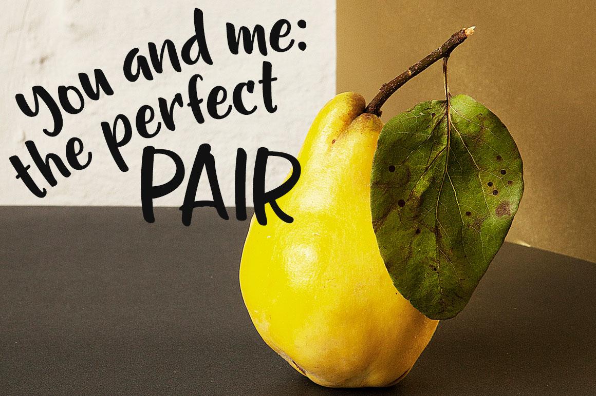 Gumption - pair pear image