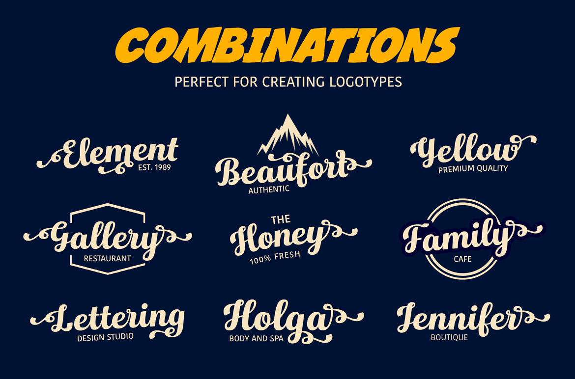 Hollywood • Vintage Font example image 4