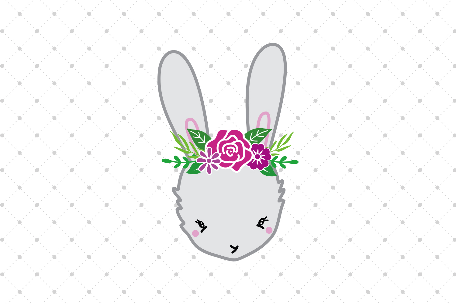 Bunny SVG Cut Files example image 2