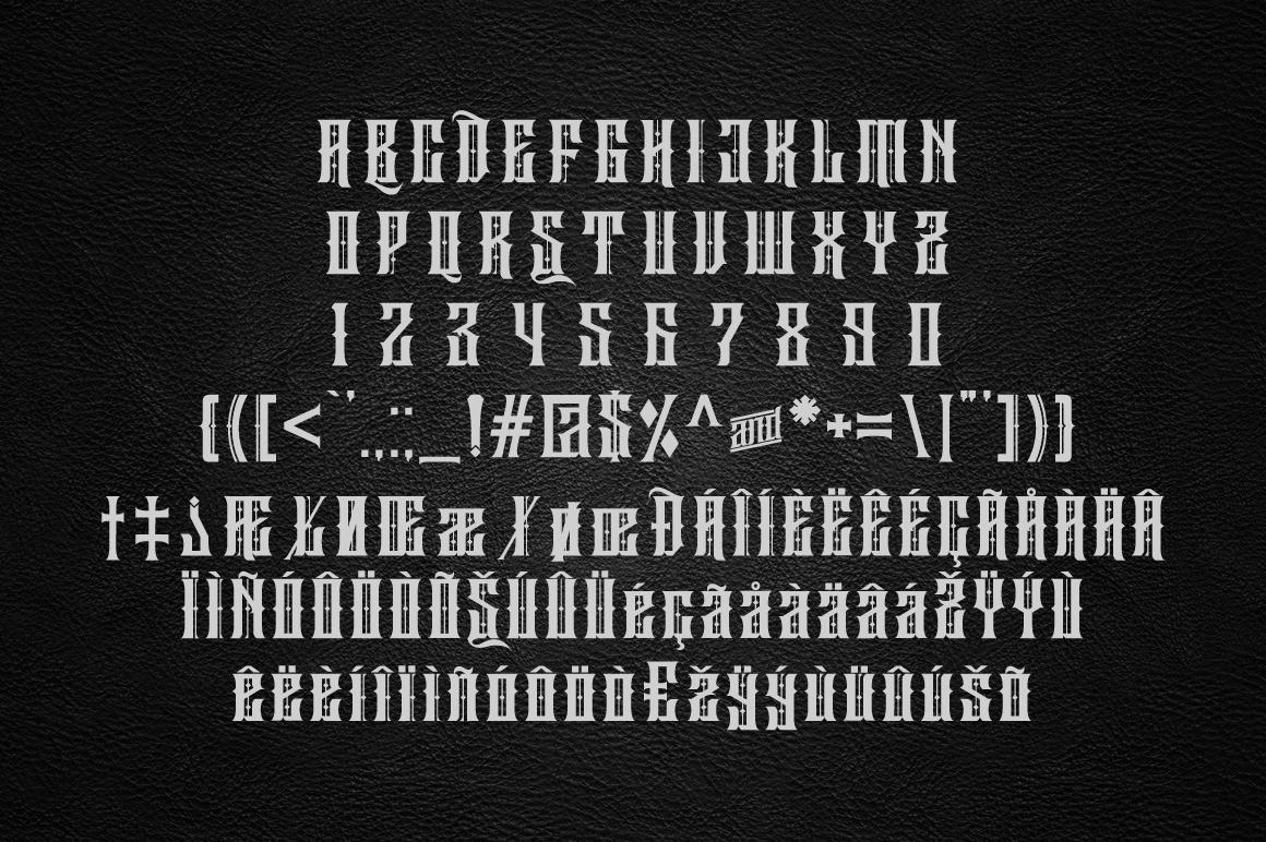 Sirugino Typeface example image 4