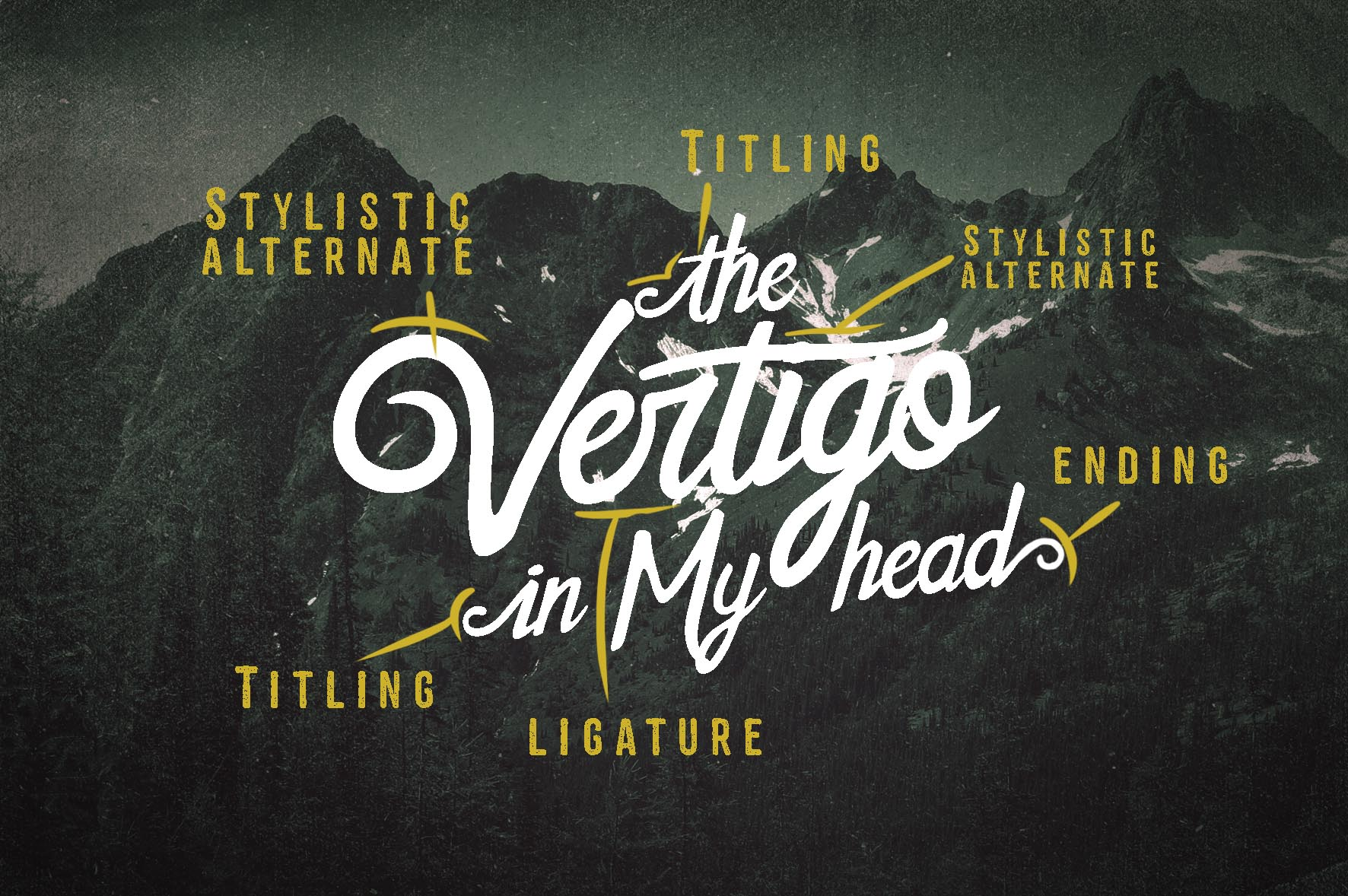 The Sweetland Typeface Font Duo example image 3