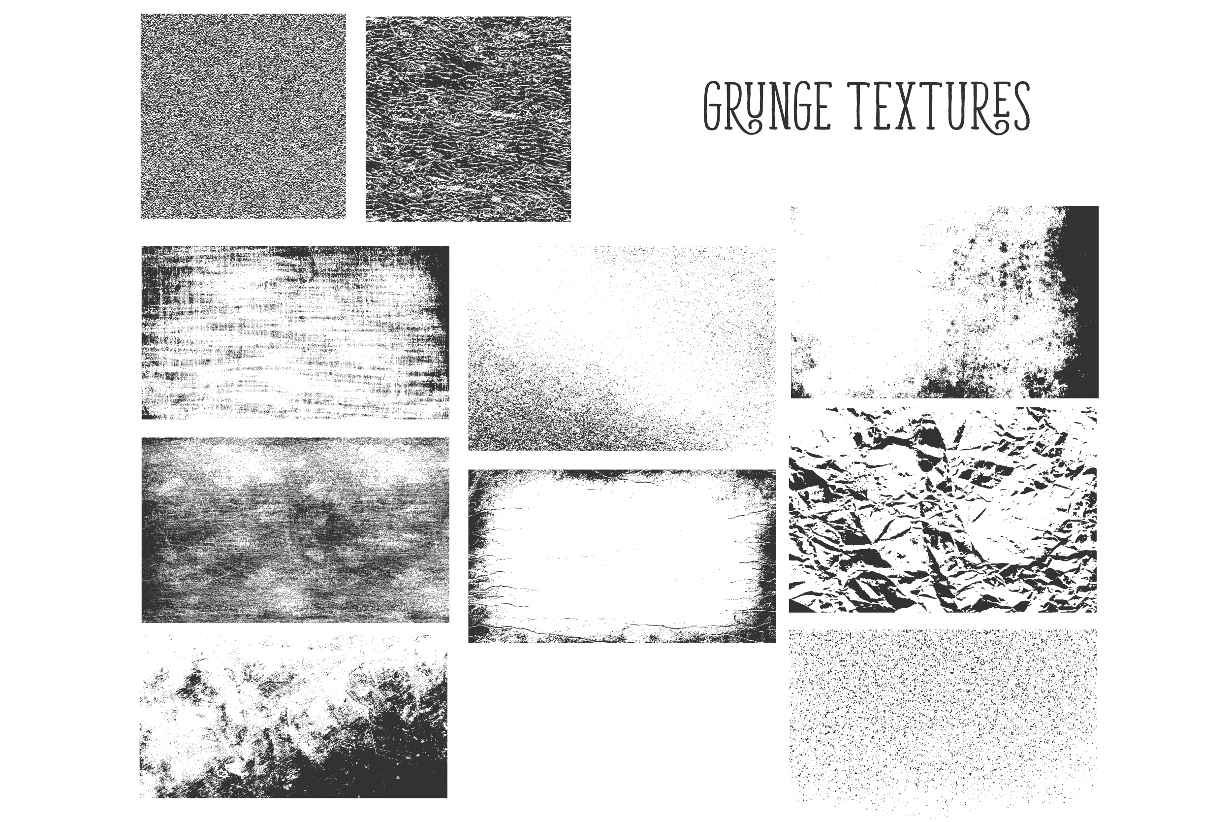450 handsketched elements. Nature mega pack example image 14