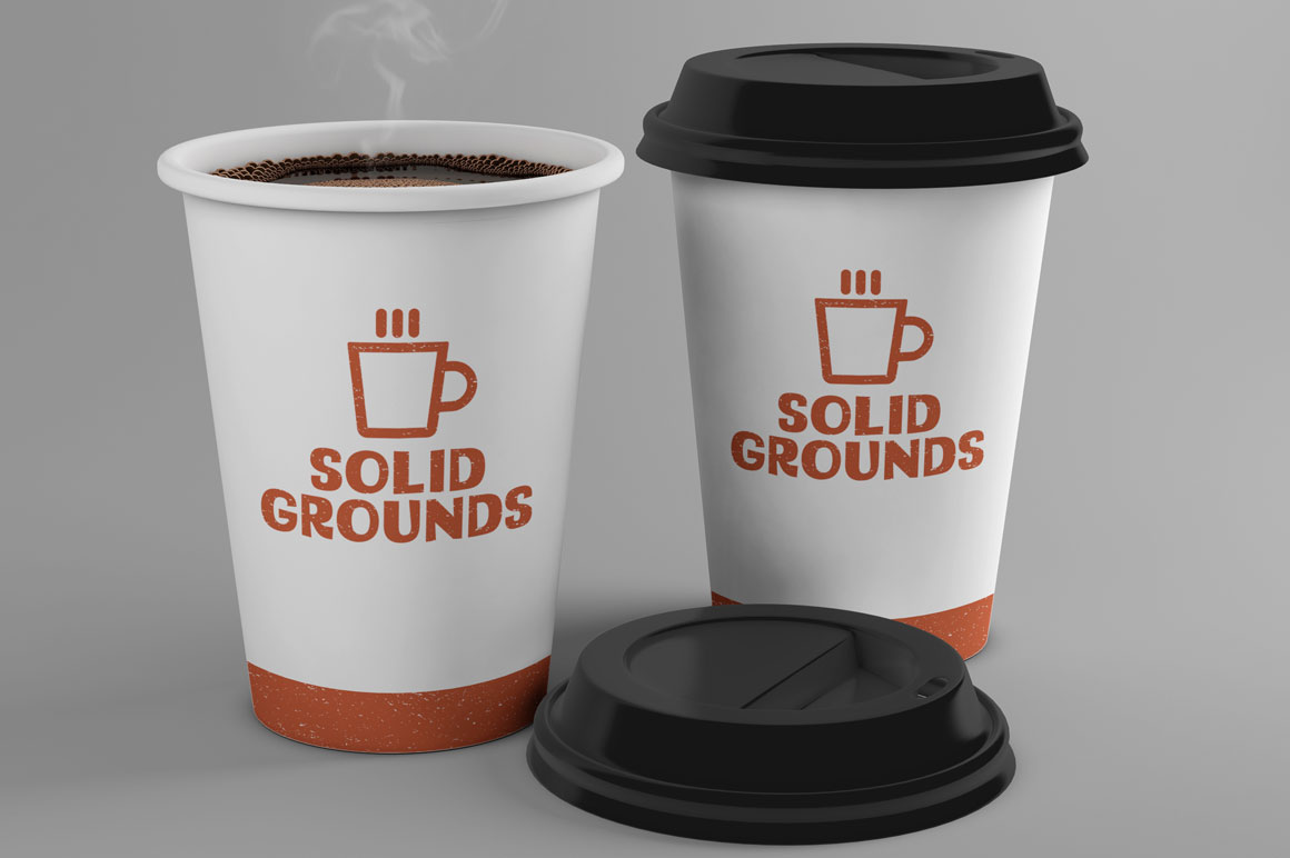 STARCH: coffee cup branding mockup idea