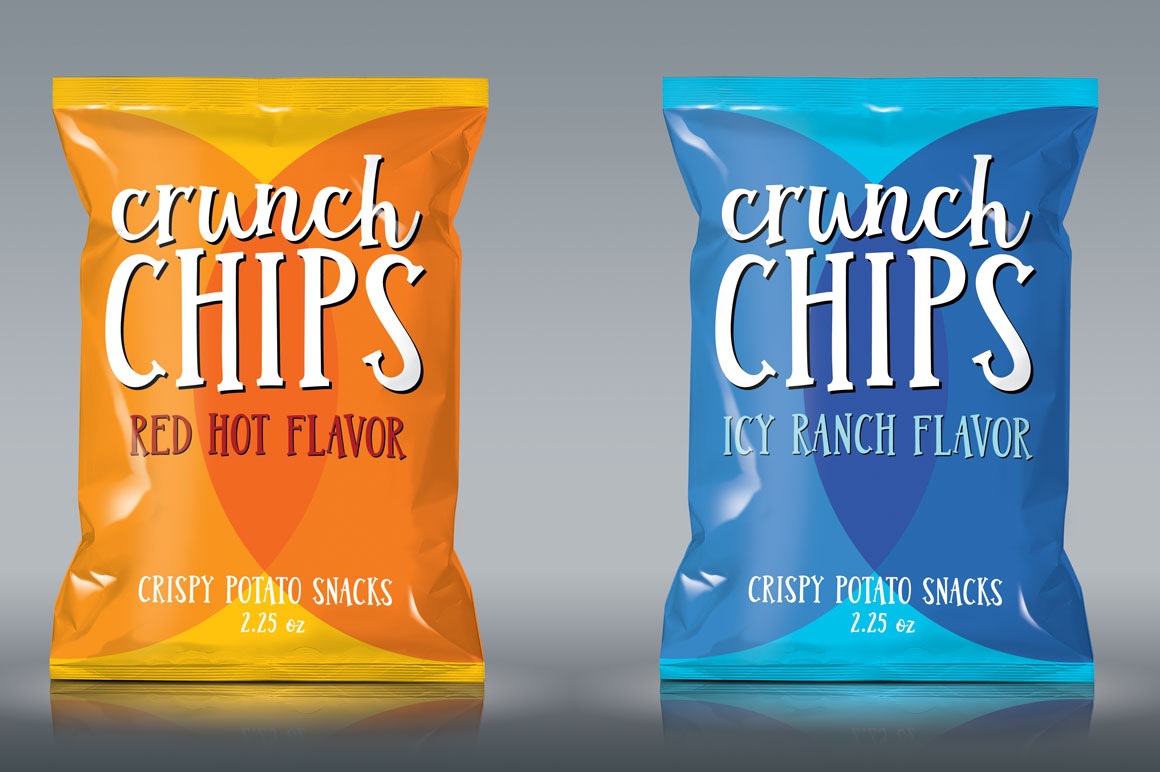 Jumbuck: food branding packaging mockup idea