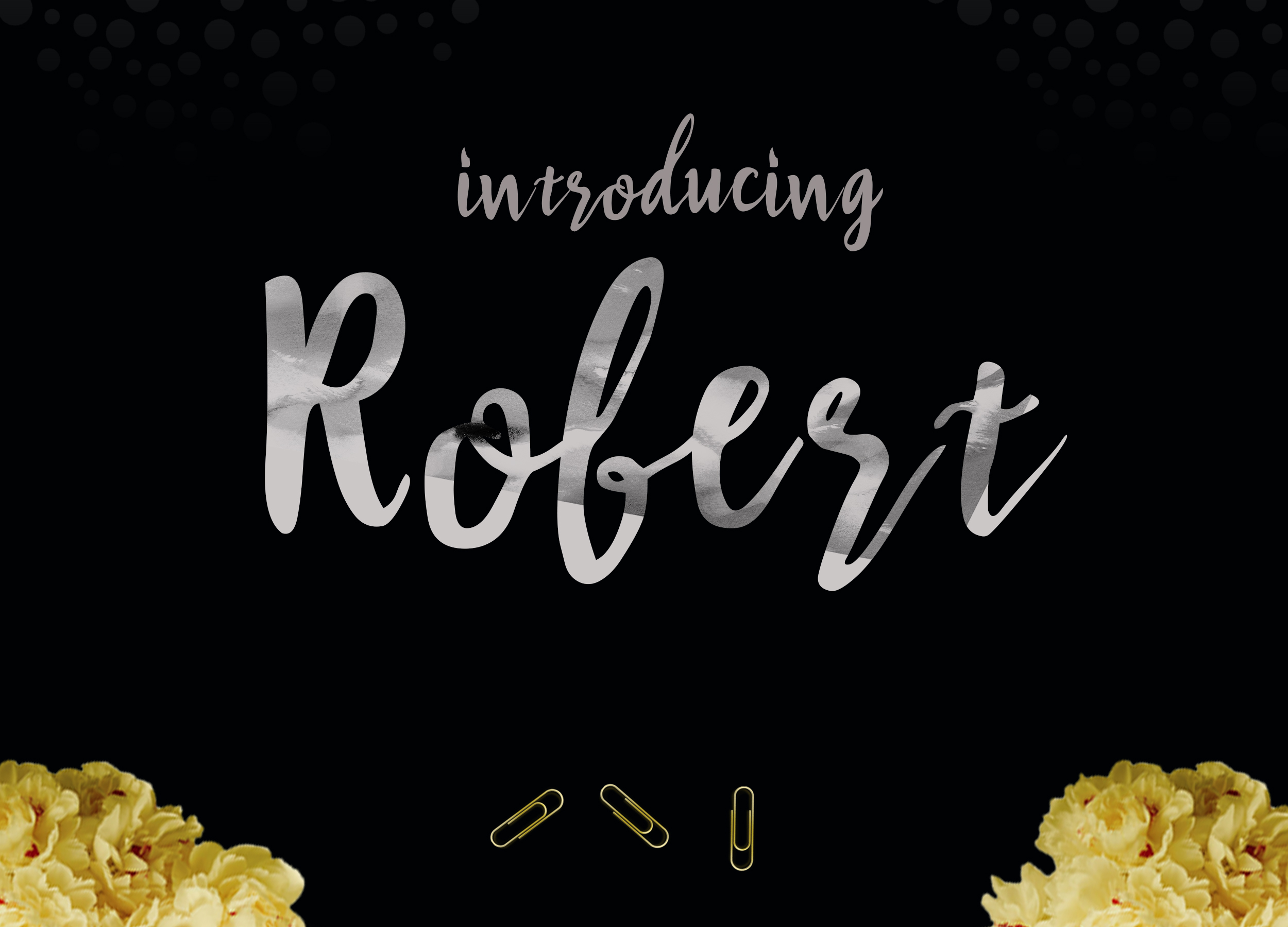 Robert update (font duo) example image 14