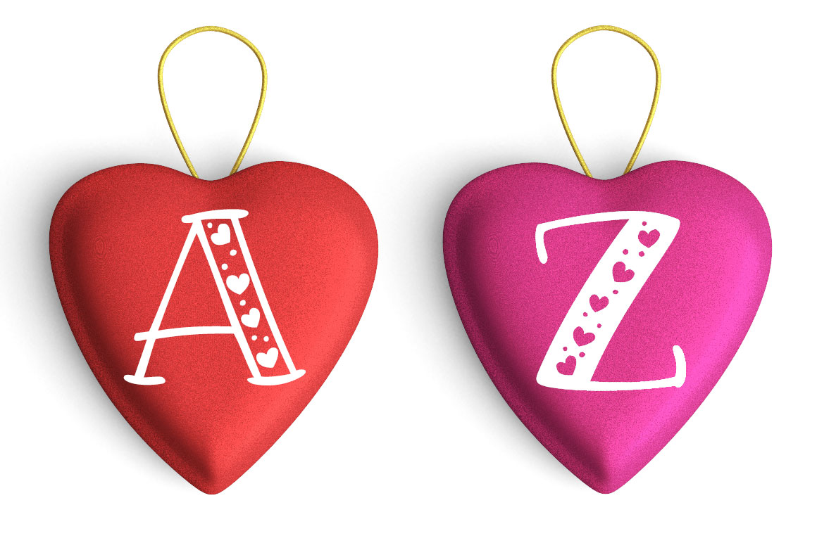 Big Sweetie - valentine's heart gift mockup idea