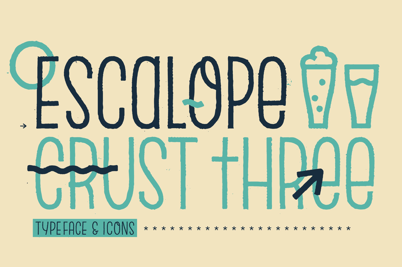 Escalope Crust Three + Icons example image 19