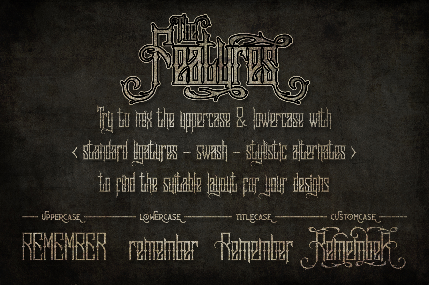 Sadis Typeface + Extras example image 2