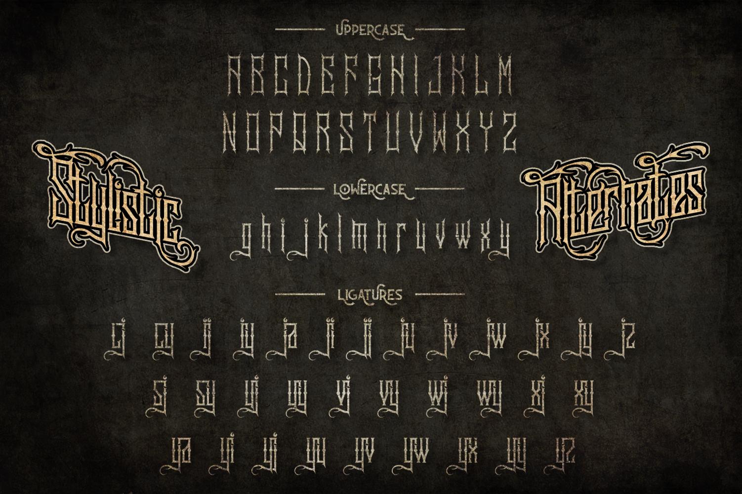 Sadis Typeface + Extras example image 6