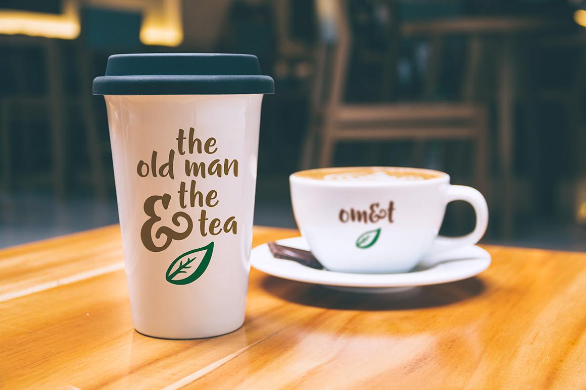 Gumption - coffee and tea branding example